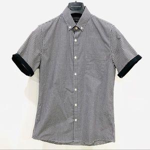 TOPMAN Men's Short Sleeve Shirt size S